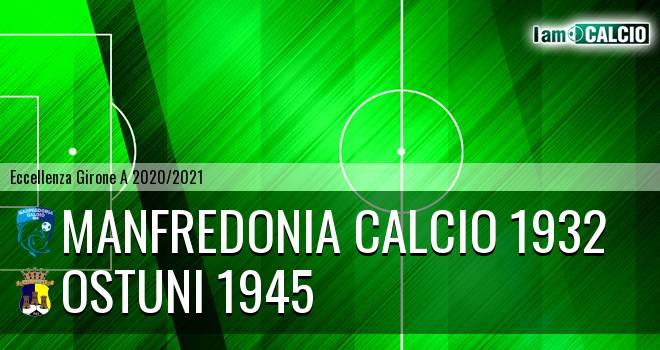 Manfredonia Calcio 1932 - Ostuni 1945