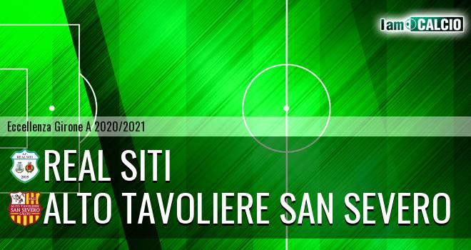 Real Siti - San Severo Calcio