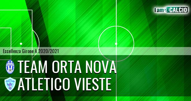 Team Orta Nova - Atletico Vieste