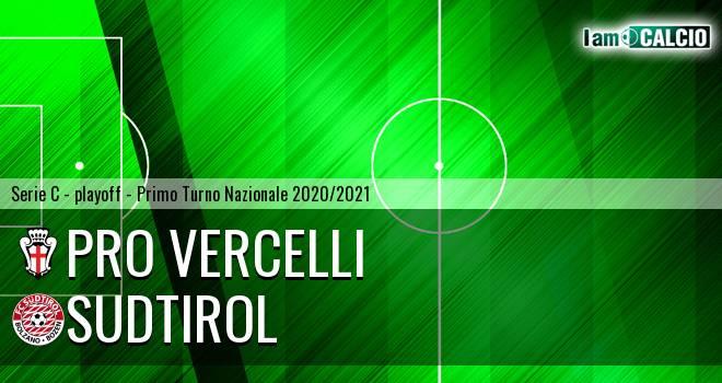 Pro Vercelli - Sudtirol