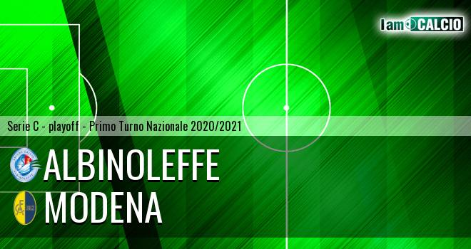Albinoleffe - Modena