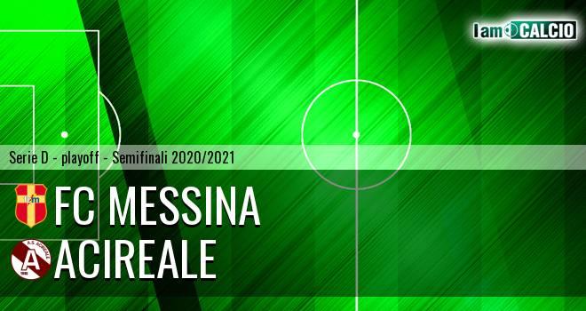 FC Messina - Acireale 2-1. Cronaca Diretta 07/07/2021