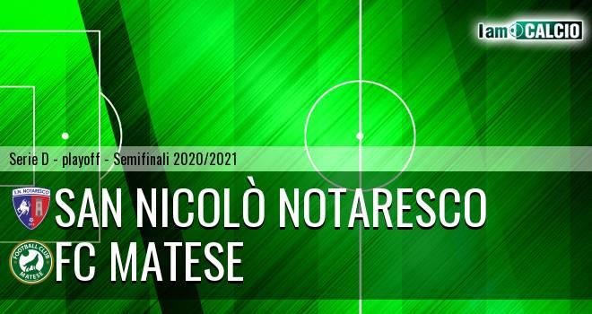 San Nicolò Notaresco - FC Matese