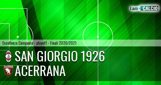 San Giorgio 1926 - Acerrana 4-2. Cronaca Diretta 29/06/2021