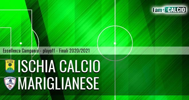 Ischia Calcio - Mariglianese 0-1. Cronaca Diretta 29/06/2021
