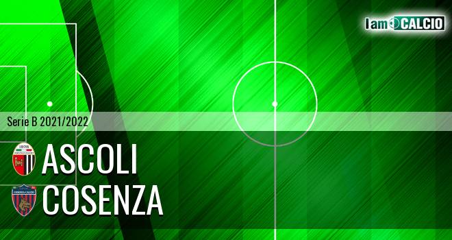 Ascoli - Cosenza