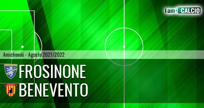Frosinone - Benevento 2-2. Cronaca Diretta 07/08/2021
