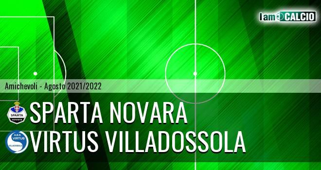 Sparta Novara - Virtus Villadossola