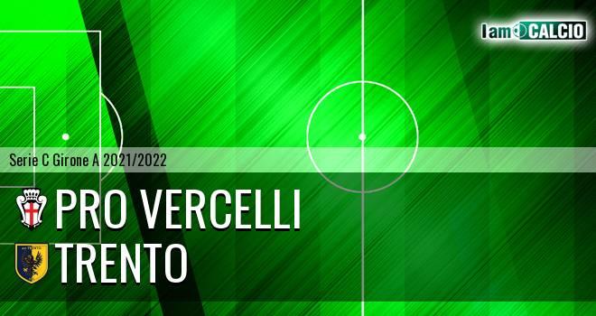 Pro Vercelli - Trento