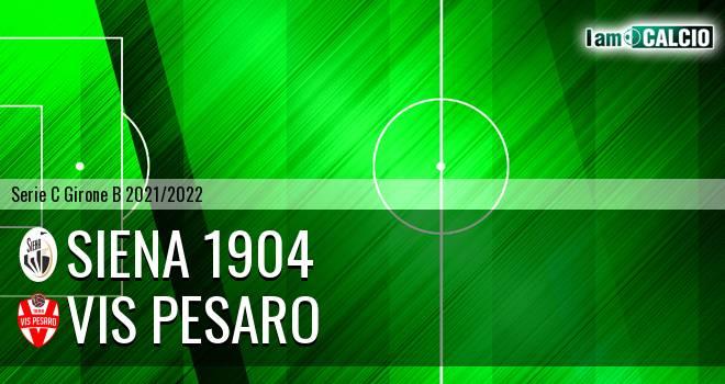 Siena 1904 - Vis Pesaro