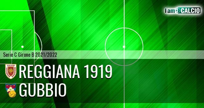 Reggiana 1919 - Gubbio