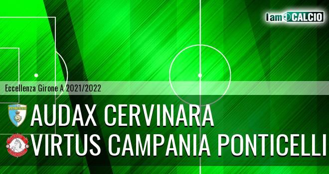 Audax Cervinara - Virtus Campania Ponticelli