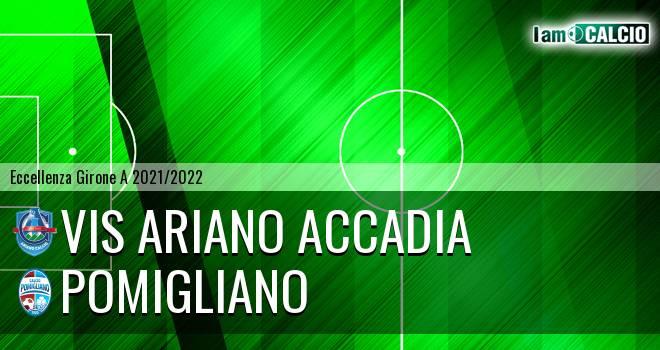 Vis Ariano Accadia - Pomigliano