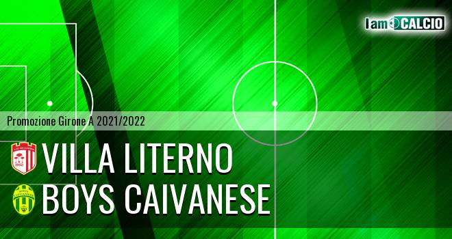Villa Literno - Boys Caivanese