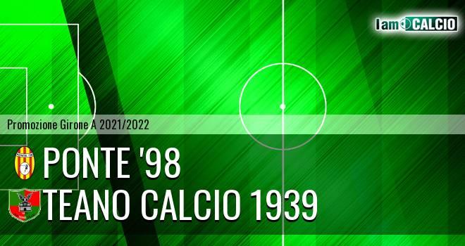 Ponte '98 - Teano Calcio 1939