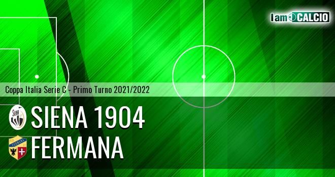 Siena 1904 - Fermana