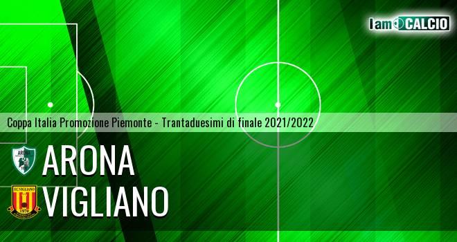 Arona - Vigliano 2-1. Cronaca Diretta 05/09/2021