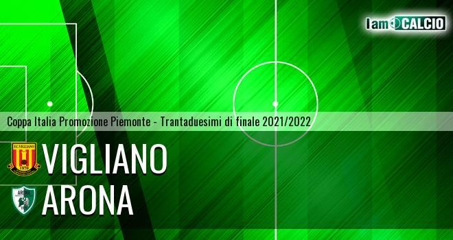 Vigliano - Arona 4-3. Cronaca Diretta 16/09/2021