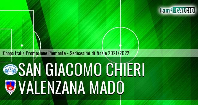 San Giacomo Chieri - Valenzana Mado