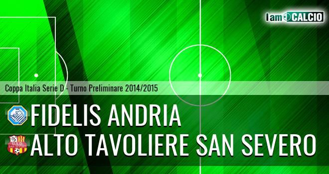 Fidelis Andria - Alto Tavoliere San Severo