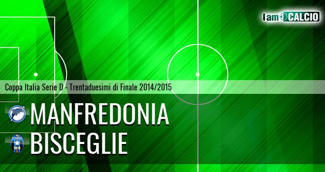 Manfredonia Calcio 1932 - Bisceglie 6-7. Cronaca Diretta 10/09/2014