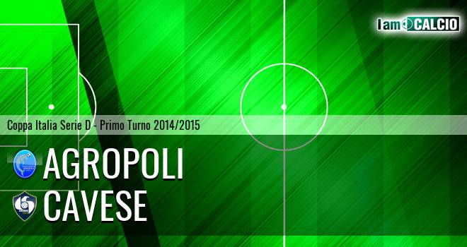 Agropoli - Cavese 3-1. Cronaca Diretta 31/08/2014