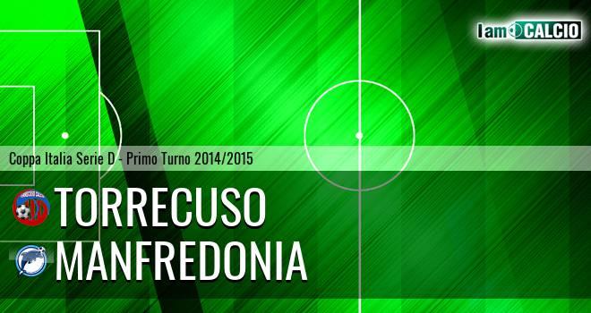 Torrecuso - Manfredonia Calcio 1932 2-4. Cronaca Diretta 30/08/2014