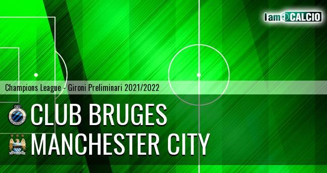 Club Bruges - Manchester City