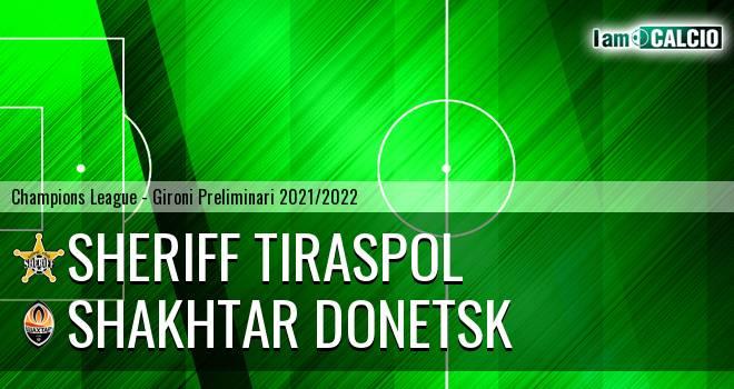 Sheriff Tiraspol - Shakhtar Donetsk