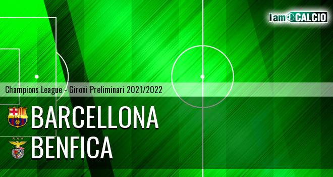 Barcellona - Benfica