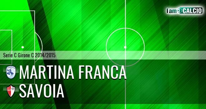 Martina Calcio 1947 - Savoia