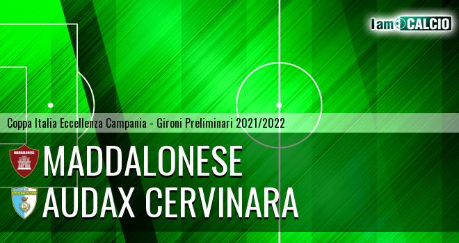 Maddalonese - Audax Cervinara