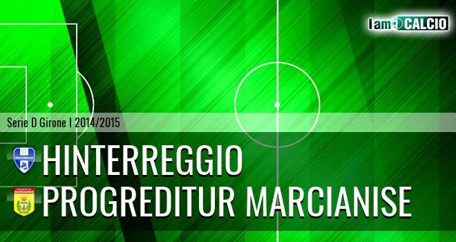 Hinterreggio - Progreditur Marcianise