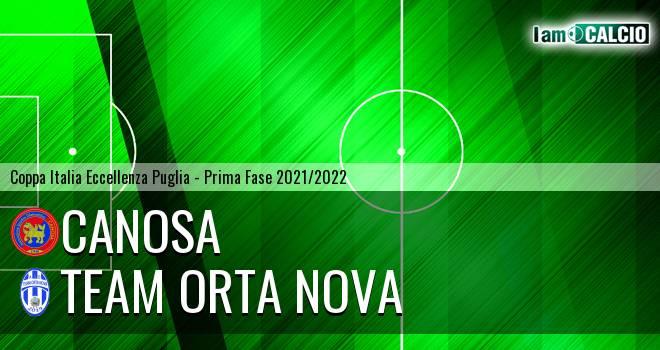 Canosa - Team Orta Nova