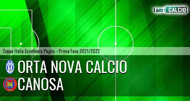 Orta Nova Calcio - Canosa