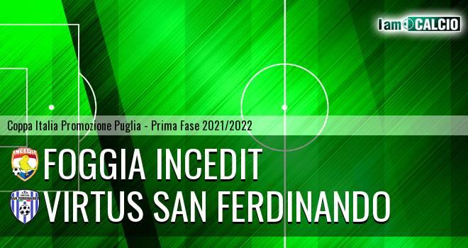 Foggia Incedit - Virtus San Ferdinando