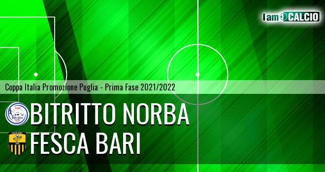Bitritto Norba - Fesca Bari