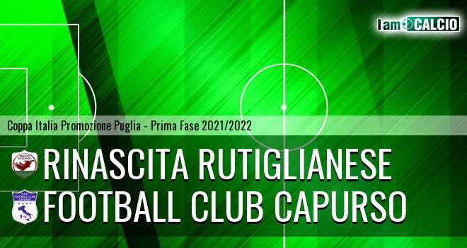 Rinascita Rutiglianese - Football Club Capurso