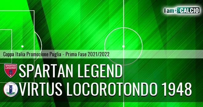 Spartan Legend - Virtus Locorotondo 1948