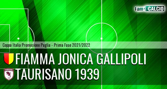 Fiamma Jonica Gallipoli - Taurisano 1939