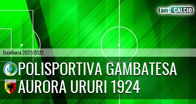 Polisportiva Gambatesa - Aurora Ururi 1924