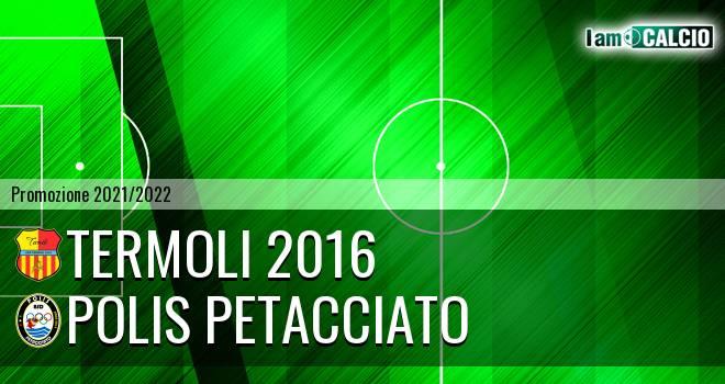 Termoli 2016 - Polis Petacciato
