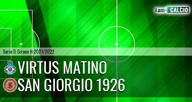 Virtus Matino - San Giorgio 1926