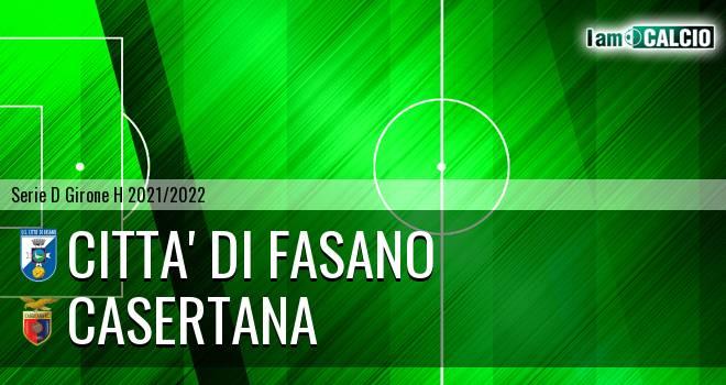 Citta' di Fasano - Casertana