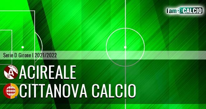 Acireale - Cittanova Calcio