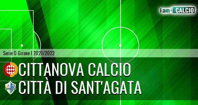 Cittanova Calcio - Città di Sant'Agata