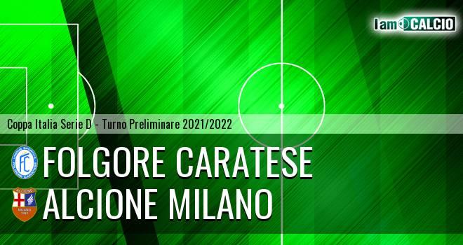 Folgore Caratese - Alcione Milano