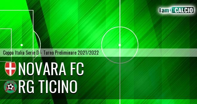 Novara FC - RG Ticino 3-0. Cronaca Diretta 12/09/2021