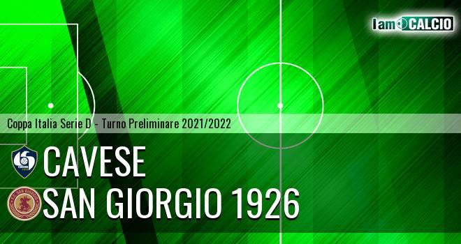 Cavese - San Giorgio 1926 1-0. Cronaca Diretta 12/09/2021