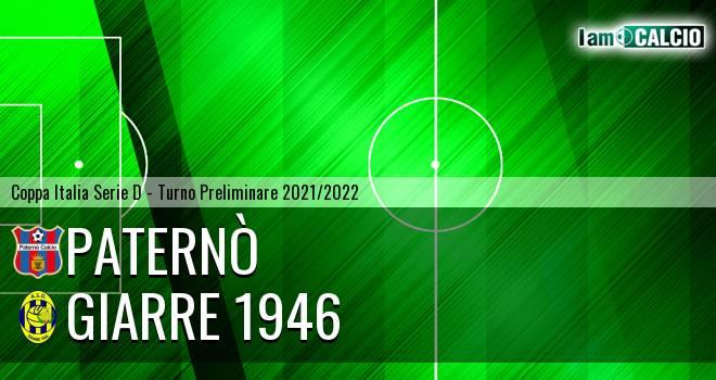 Paternò - Giarre 1946